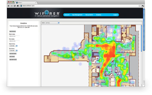 Indoor Heatmaps